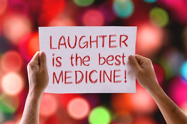 Have You Found A Reason To Laugh Today?
